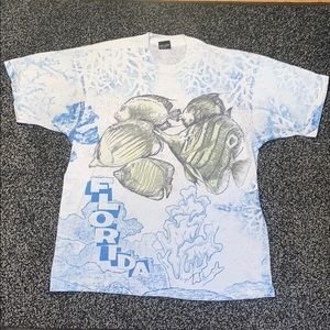 Vintage Florida All Over Print T Shirt
